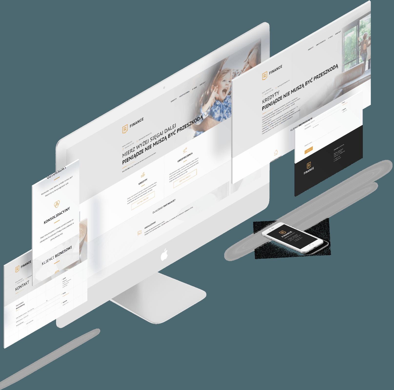wizytówki Rk Finance